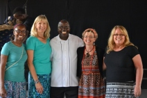 Team with Pastor Dongo