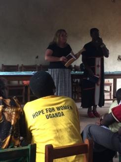 Michele Teaching.